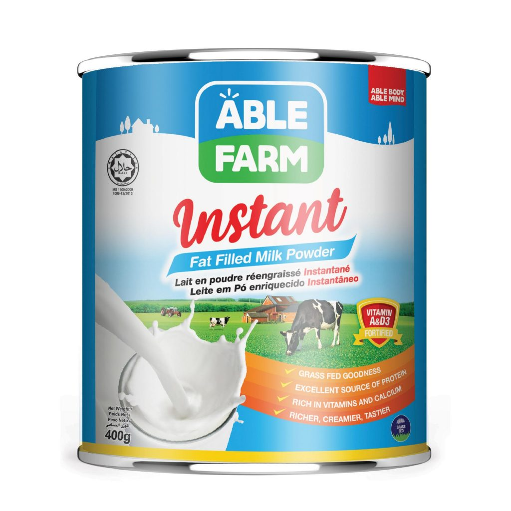 Able Farm Instant Fat Filled Milk Powder