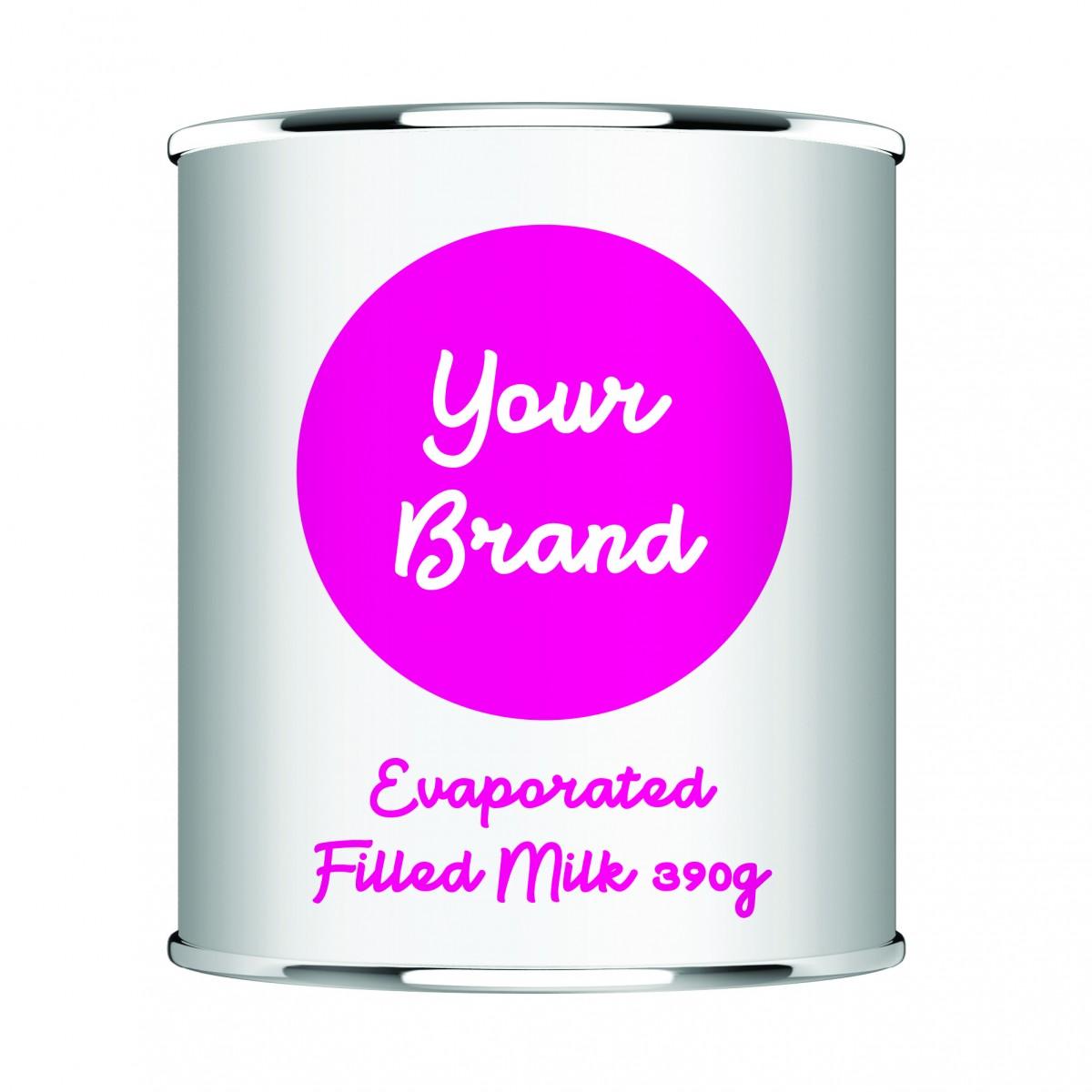 Private Label - Evaporated Milk