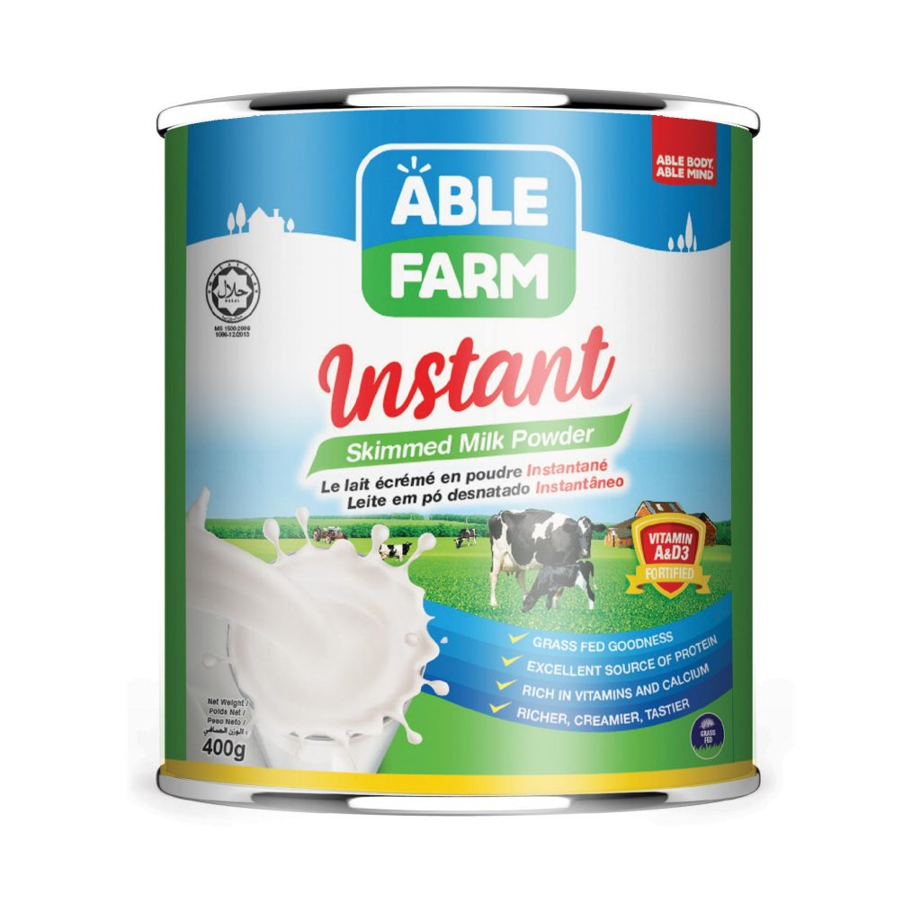 Able Farm Instant Skimmed Milk Powder