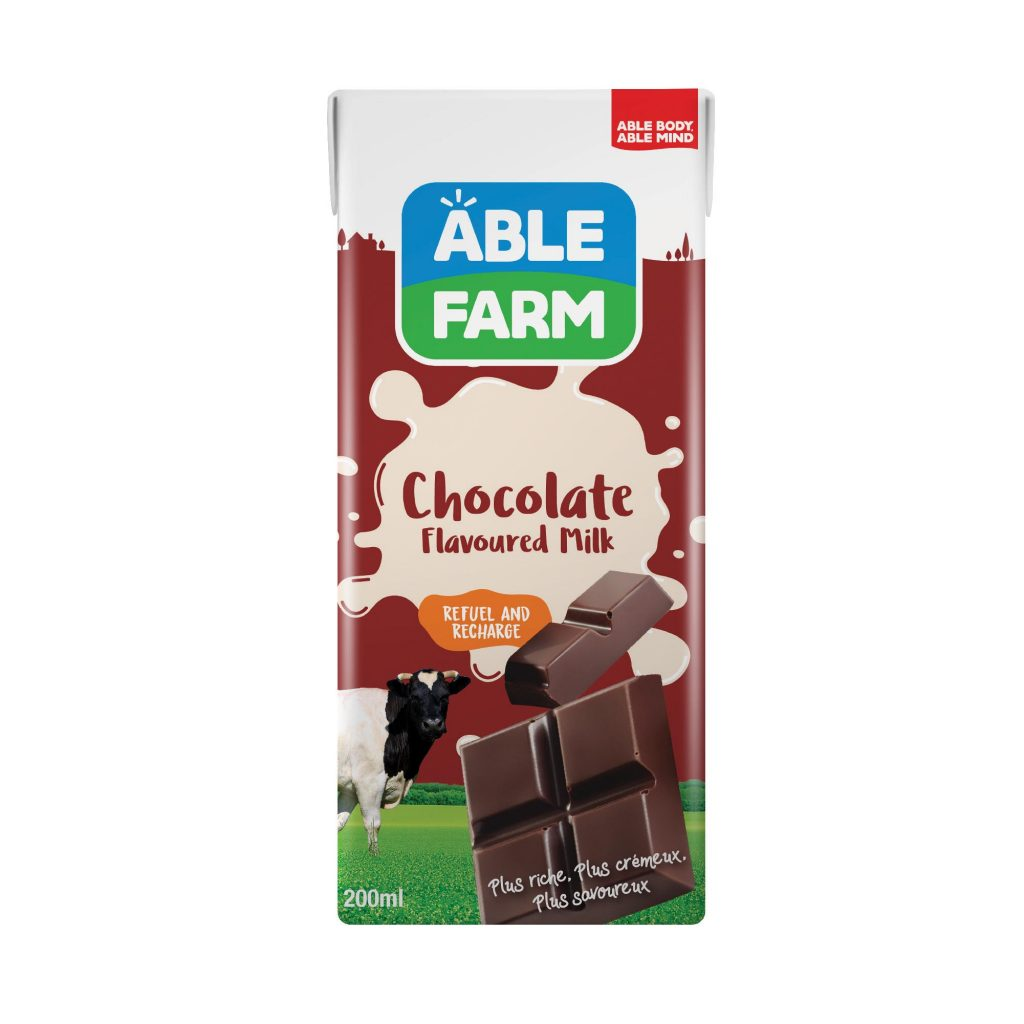 Able Farm Chocolate Flavoured Milk