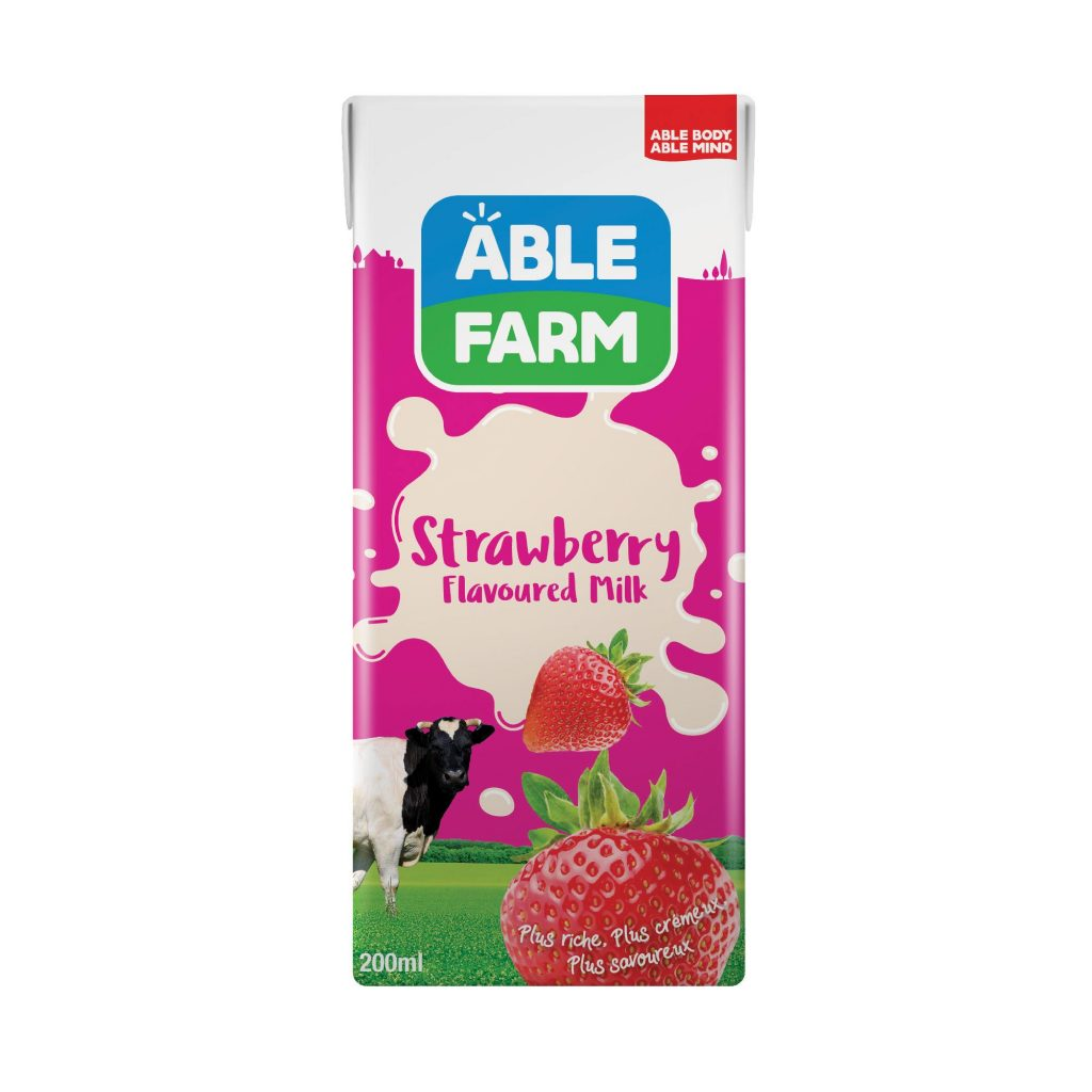 Able Farm Strawberry Flavoured Milk
